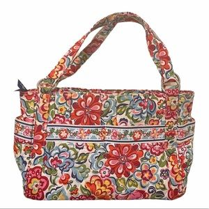 Vera Bradley quilted floral purse